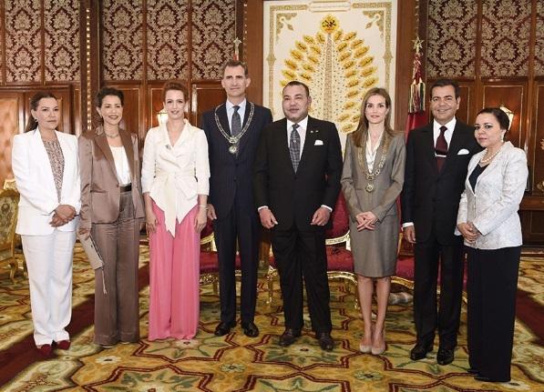 S.M le Roi s'entretient avec S.M Felipe VI d'Espagne
