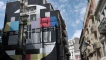 A Athènes, l'art urbain s'inscrit entre rue et crise
