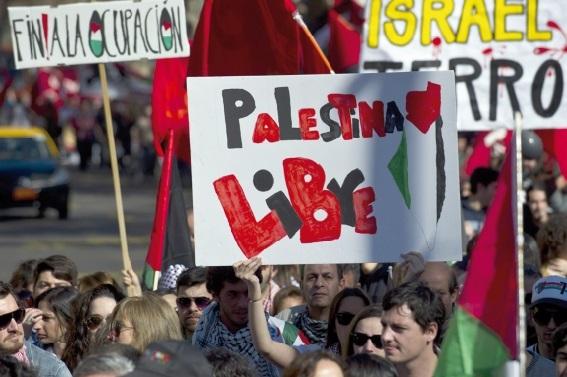 Manifestations pro-palestiniennes à travers le monde