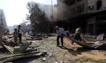 Violents combats  entre l'armée syrienne et les jihadistes de l'EI