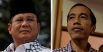 Joko Widodo vainqueur  potentiel de la présidentielle en Indonésie