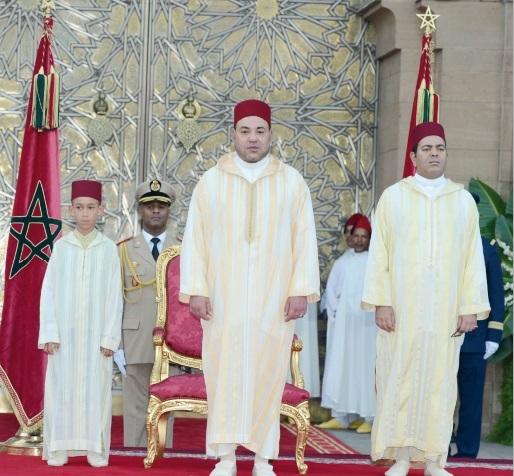 15ème anniversaire de l'accession de S.M le Roi Mohammed VI au Trône