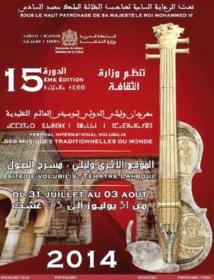 Le Festival Volubilis célèbre les musiques traditionnelles du monde
