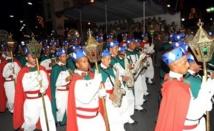 La retraite aux flambeaux égaye la place Al-Barid de Rabat