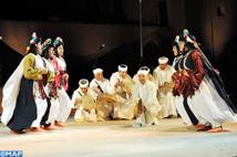 Ouarzazate fin prête pour  la 3ème édition du Festival national des arts d'Ahouach