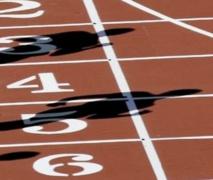 Insolite :Piste d'athlétisme