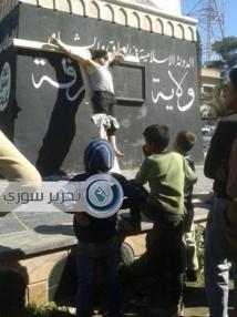 Les jihadistes s'emparent d'une partie d'une base de l'armée syrienne à Raqa