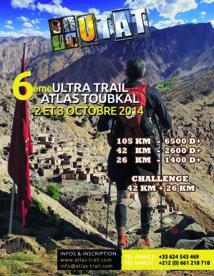 700 athlètes attendus à l'Ultra Trail Atlas Toubkal