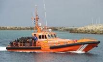 Plus de 200 migrants secourus dans le détroit de Gibraltar