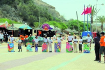 La caravane de la voile pour  l'environnement s'installe dans 14 plages