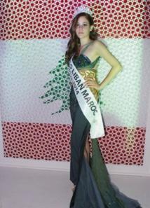 Une Libano- Marocaine élue miss Liban