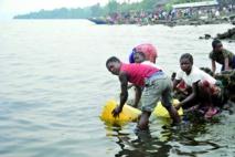 Au bord du lac Kivu, la ville de Goma veut de l'eau