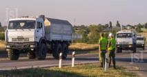 """Kiev et Moscou d'accord sur """" l'inspection du convoi"""" d'aide humanitaire"""