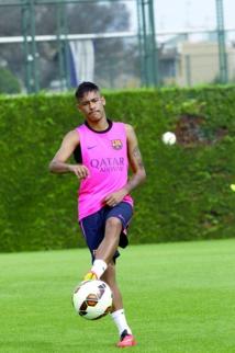 Neymar prêt pour le service