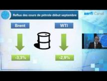 Le pétrole termine à son plus bas niveau depuis janvier à New York