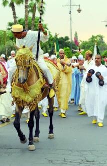 Les arts populaires  s'invitent à Marrakech