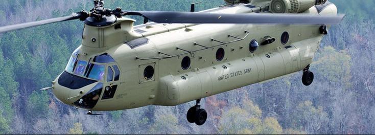 Rénovation des hélicoptères Chinook des FRA
