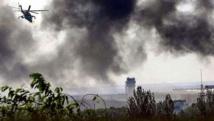 Donetsk de nouveau sous les bombes