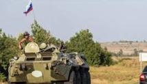 L'armée ukrainienne combat une colonne de blindés russes qui a traversé la frontière