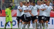L'équipe d'Allemagne  féminine de football