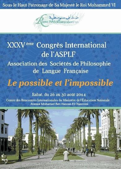 Les philosophes francophones planchent à Rabat sur le possible et l'impossible