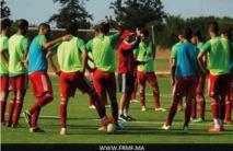 La sélection des U20 en concentration  à Maâmora