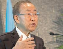 Mise en garde de Ban Ki-moon contre une escalade armée