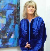 L'artiste peintre marocaine Fatema Binet-Ouakka  expose en France