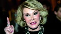 L'actrice américaine Joan Rivers a tiré sa revérence