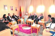 Renforcement des relations  bilatérales entre l'USFP  et le Parti socialiste de Cantabrie