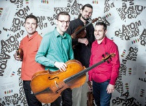 Le groupe de jazz polonais Atom String Quartet à Rabat