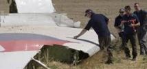 """Le vol MH17 abattu par """"un grand nombre de projectiles"""""""