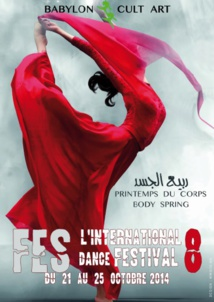 """La 8ème édition de """"l'International Dance festival"""" de Fès célèbre  le Printemps du corps"""
