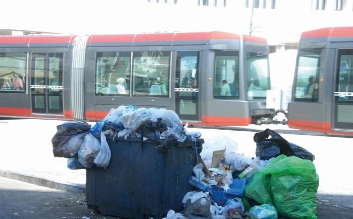 Casablanca croule  sous ses ordures