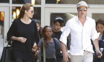 Brad Pitt et Angelina Jolie: après le mariage, une lune de miel en famille