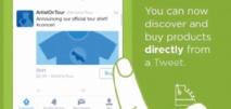 Twitter poursuit sa quête de revenus et lance un bouton «acheter» sur ses tweets