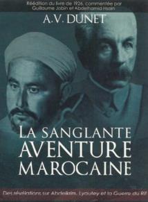 "Réédition de ""La Sanglante aventure marocaine"""