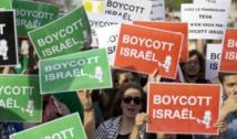 Manifestation contre la candidature d'Israël