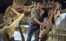 Découverte du premier dinosaure adapté au milieu aquatique