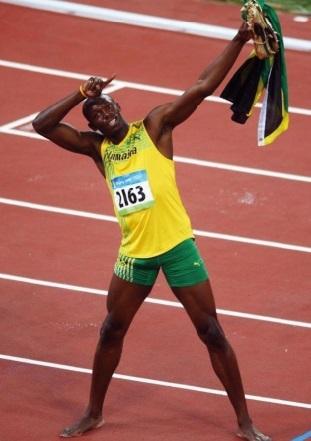 """Les surnoms des sportifs : Usain Bolt, """"la Foudre"""""""