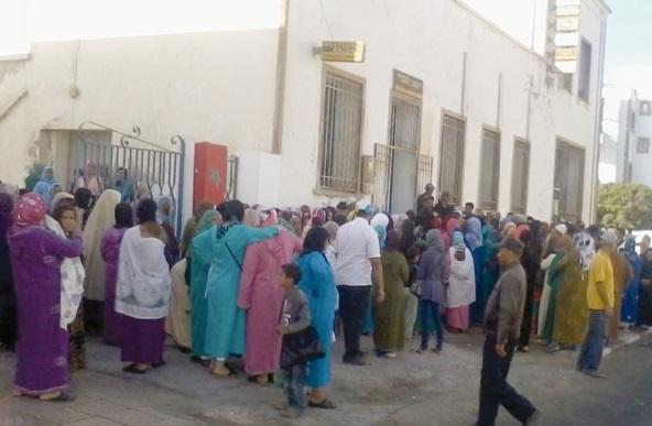 32 familles humiliées à Essaouira par Barid Al-Maghrib