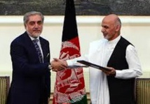 Signature d'un accord de gouvernement d'union en Afghanistan
