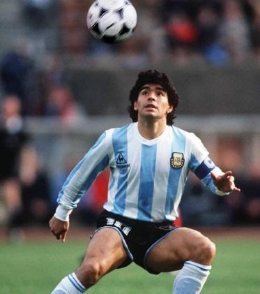 """Les surnoms des sportifs : Diego Maradona, """"El pibe de oro"""""""