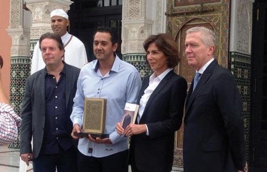Sans surprise, Réda Dalil remporte le Prix littéraire de la Mamounia