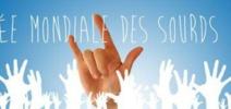 Marche à l'occasion de la Journée mondiale des sourds