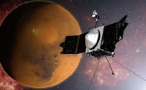 La sonde Maven en orbite autour de Mars