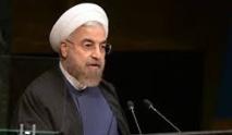 """Le président Rohani fustige  """"la stratégie erronée"""" de l'Occident"""
