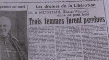 70 ans après l'épuration, le tabou des pendues se lézarde à Monterfil