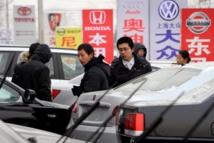 """L'automobiliste chinois un """"mauvais patriote"""" qui dépense beaucoup"""