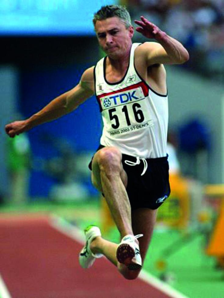 """Les surnoms des sportifs : Jonathan Edwards """"le Goéland"""""""
